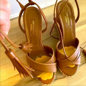 💔final price💔 Aquazzura wedge sandals